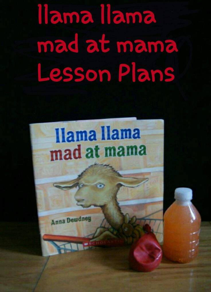 Try these llama llama mad at mama Lesson plans with your Littles.  Free math printable included! They will love learning with llama.  Homeschooling made easy.