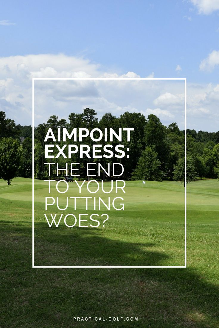 13+ Aimpoint express golf ideas in 2021