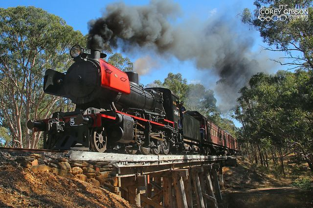 J549 - Victorian Goldfields Railway by Australian Trains, via Flickr