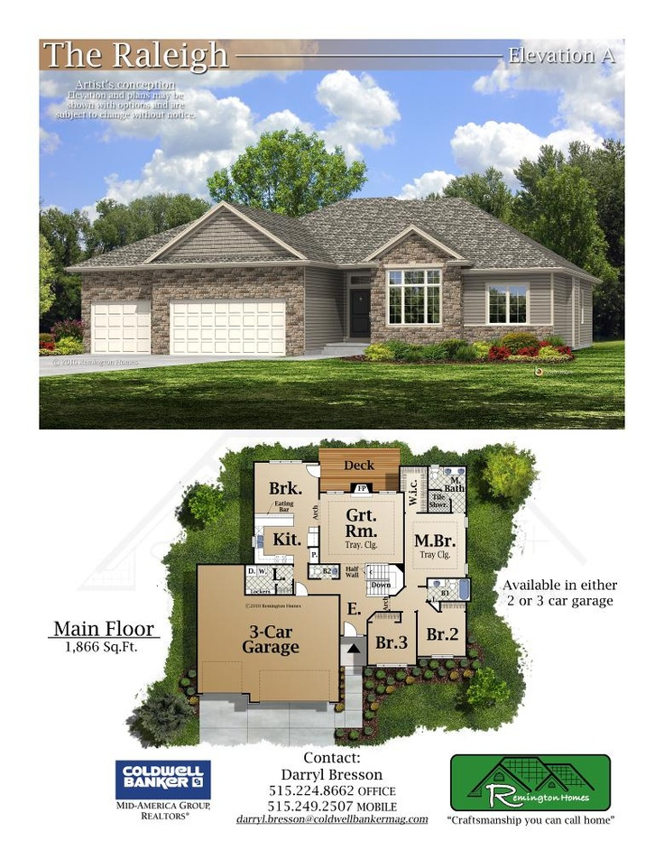 51 best des moines builders images on pinterest iowa home builder remington homes the raleigh malvernweather Images