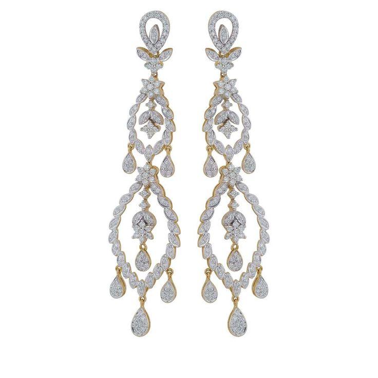 Nakshatra Diamond Earring NERB175SI-GH