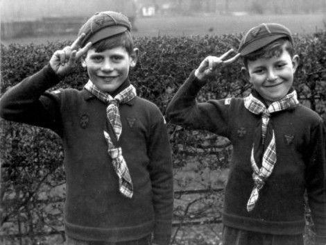 Padvinders in Nederland, 1950. Bron: Nationaal Archief.