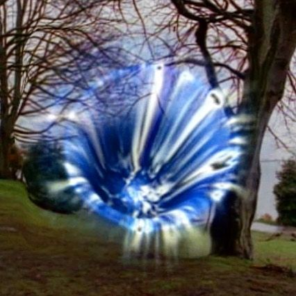 A portal to another reallity! #sliders #vortex #alternateuniverse #cgi #sfx #scifi #wormhole #specialeffects #blue #sunday #instagood