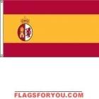 2' x 3' Texas Under Spain High Wind, US Made Flag