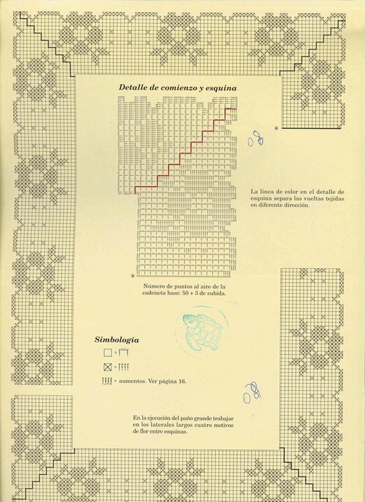 Serviettes-Muestras-y-Motivos-Especial-Panos-№14 4 Scheme