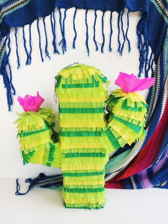 Cactus Piñata 23 Fiesta Party Cactus Theme by TheEmojiTree