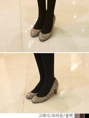 korean fashion online store [COCOBLACK] Crocker Heel Pradesh / Size : 230-250 / Price : 49.15 USD #korea #fashion #style #fashionshop #cocoblack #missyfashion #missy #shoes #heel