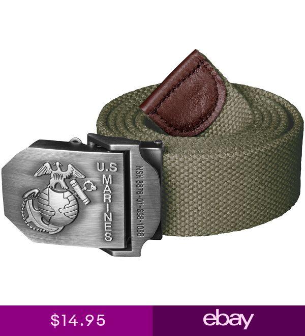 Helikon Tactical Marines Army Uniform Mens Combat Belt Cotton Canvas Olive Green