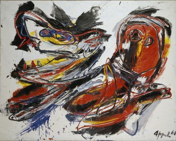 Christiaan Karel Appel Artist Biography Art Art For Art Sake Artist