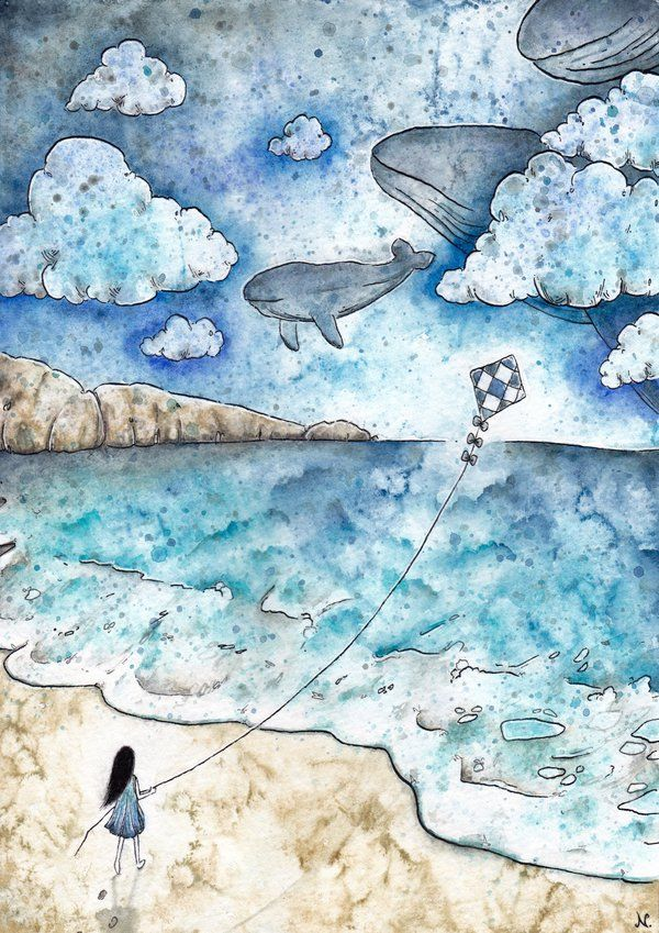 Where The Sea Meets The Sky by pseudozufall on DeviantArt