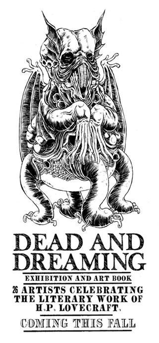 Lovecraft art poster