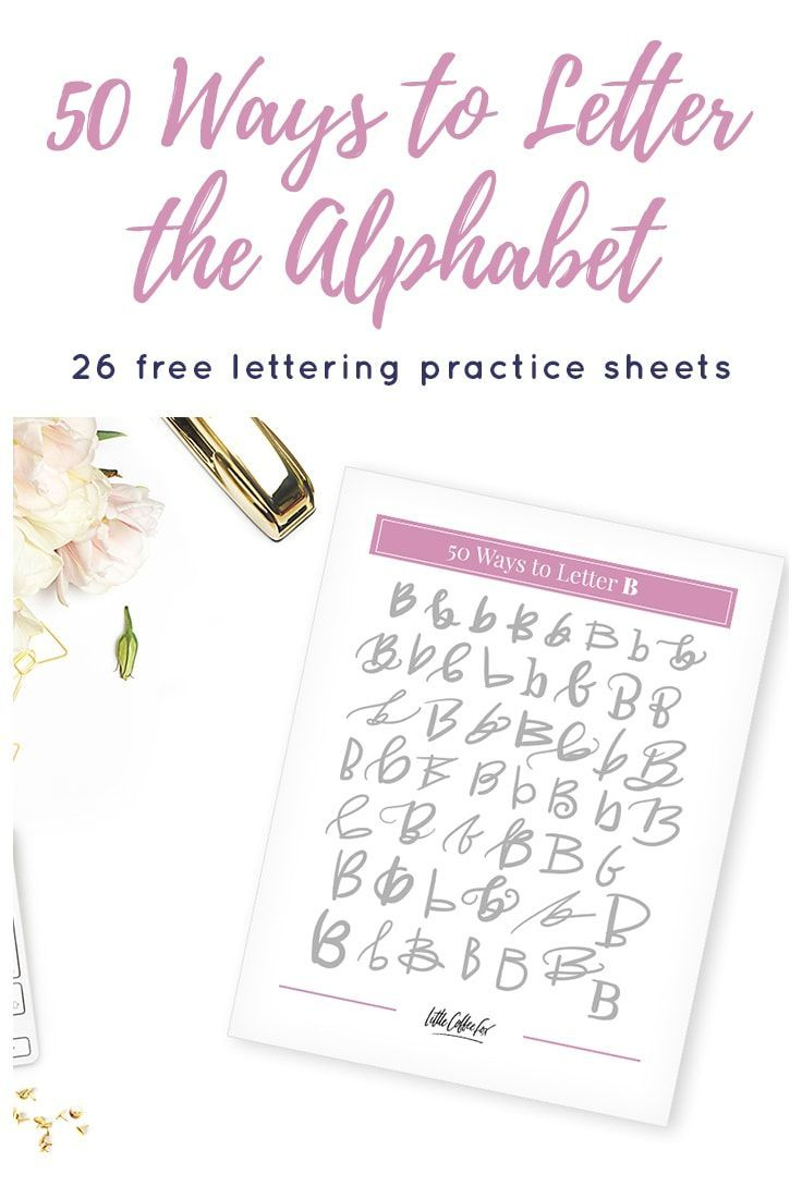 Predownload: 26 Free Lettering Worksheets 50 Ways To Letter The Alphabet Free Lettering Worksheets Hand Lettering Worksheet Hand Lettering Tutorial [ 1089 x 736 Pixel ]