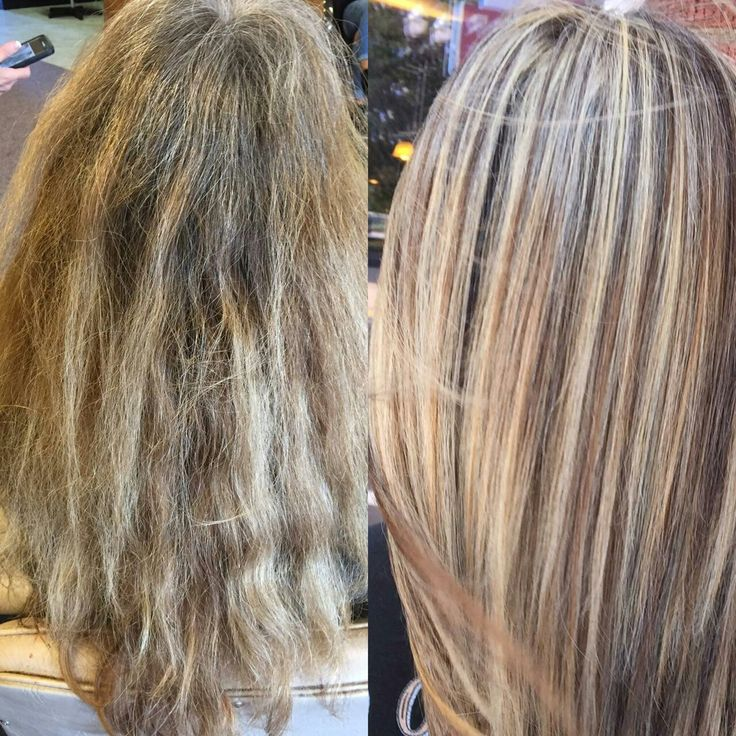 Beautiful blonde with silvery hue to blend in gray hair John amico haircolor and smoothing keratin treatment