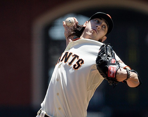 June 27-3 words...SHUT OUT SWEEP!! Timmy was awesome, Buster played 1st, Timmy managed to keep the shutout by making the out at home, and the GIANTS were fabulous. Great game! Final score: GIANTS 3,  Dodgers 0.