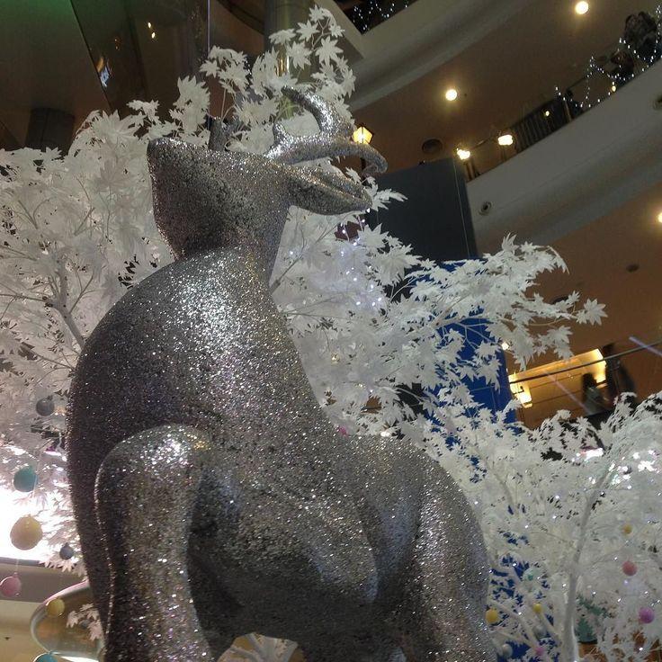 クリスマス後もを運ぶトナカイ...と言えば良いのかまだまだしっかりトナカイさん働いてます  #クリスマス #プレゼント #新年 #newyear #トナカイ #asok #アソーク #ショッピング #モール #thailand #bankoku #タイ #バンコク #cocoacana