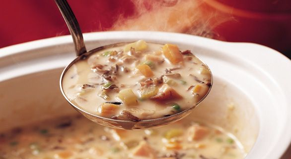 How to Make Soup in a Slow CookerLeftover Turkey, Slow Cooker Soup, North Wood, Crock Pots Soup, Betty Crocker, Cooker North, Wood Wild, Soup Recipes, Wild Rice Soup