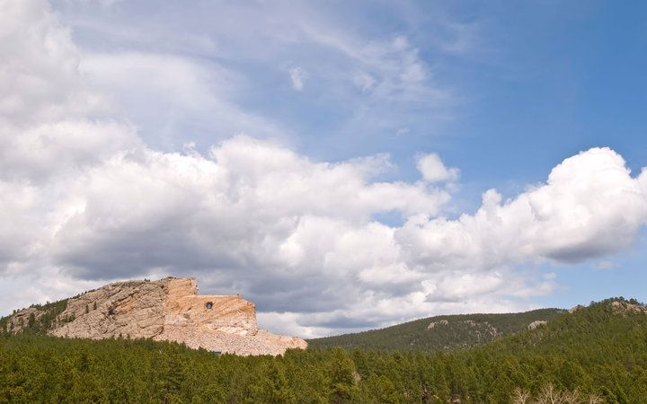 South Dakota from the Crazy Horse Memorial - Where to Find the Best View in Every State | Travel + Leisure