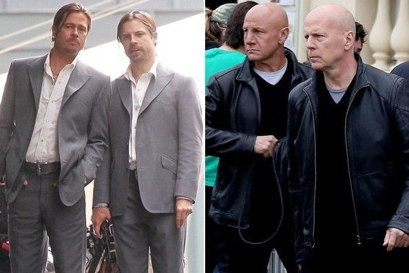 Mind-Bending Photos of Actors and Their Stunt Doubles - You'll be seeing double. - Photos
