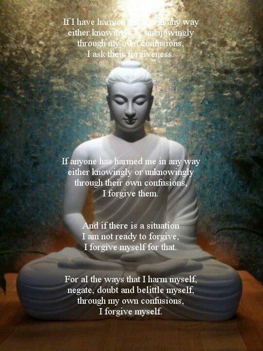 Buddhist Forgiveness Prayer