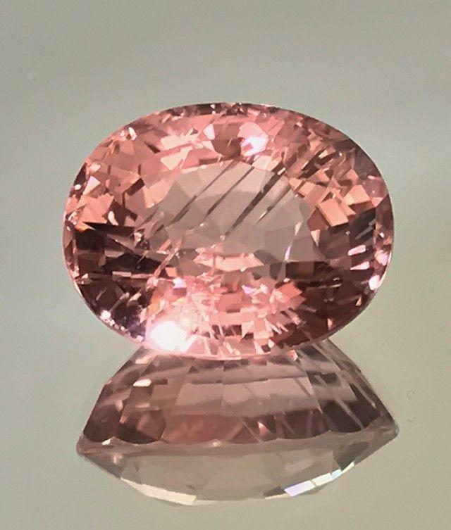 Rare 12.04cts French Rose Pink Mozambique Tourmaline -  tourmailne