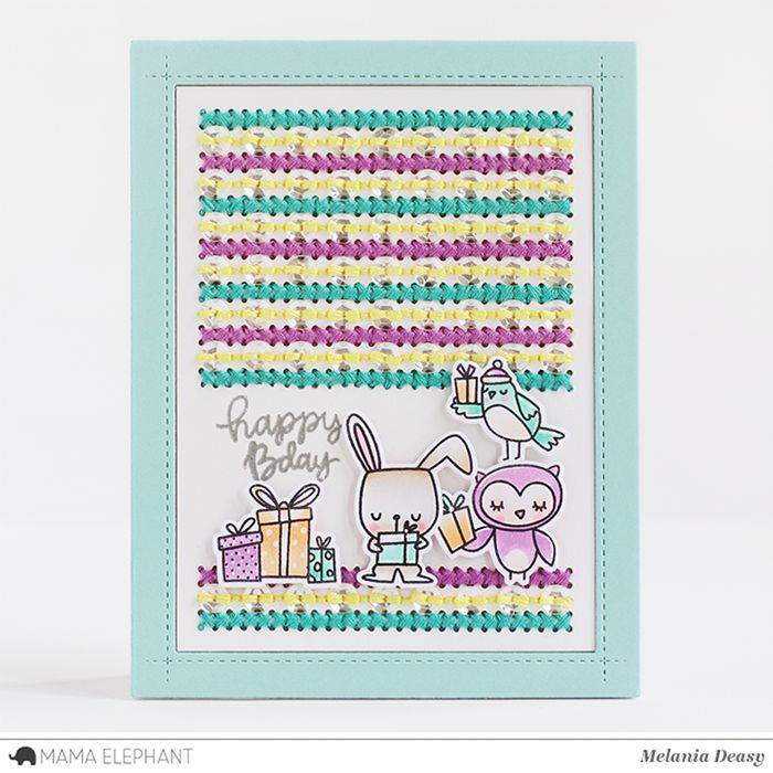mama elephant   design blog: Whimsical Winter with Deasy