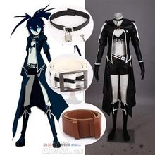 Athemis Leather Jacket Set VOCALOID Hatsune Miku BLACK ROCK SHOOTER Cosplay Sexy Bikini Suits Attractive Long Coat Outfit //Price: $US $104.41 & Up To 18% Cashback //     #steampunk