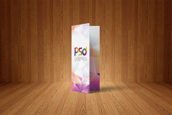 Free Bi-Fold Brochure Mockup PSD | PSD Graphics | #free #photoshop #mockup #psd #bi-fold #brochure