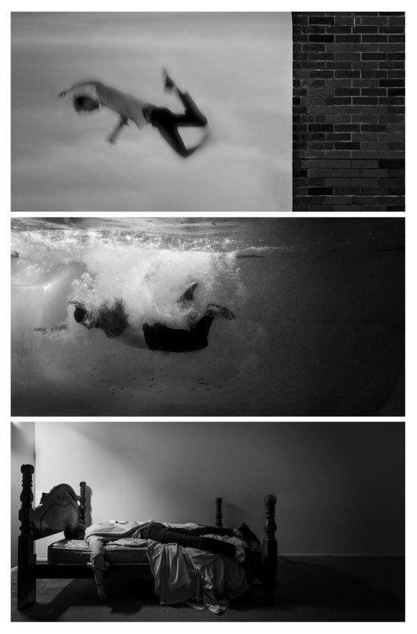 PHOTOS. Ce que c'est de vivre avec la dépression en une série d'autoportraits