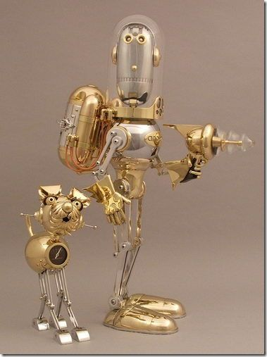The Steampunk Robots Of Lawrence Northey
