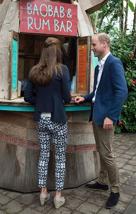 Kate Middleton surprises in £21.99 Gap printed trousers on Cornwall tour