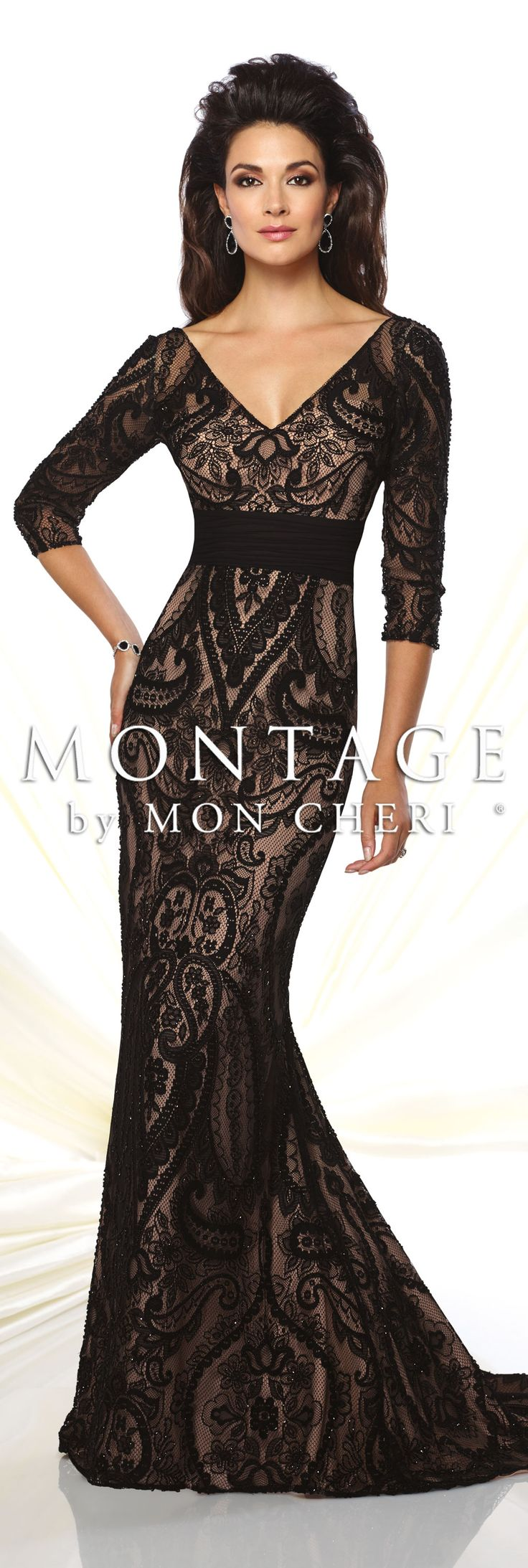 Montage by Mon Cheri Spring 2016 - Style No. 116952 #eveninggowns