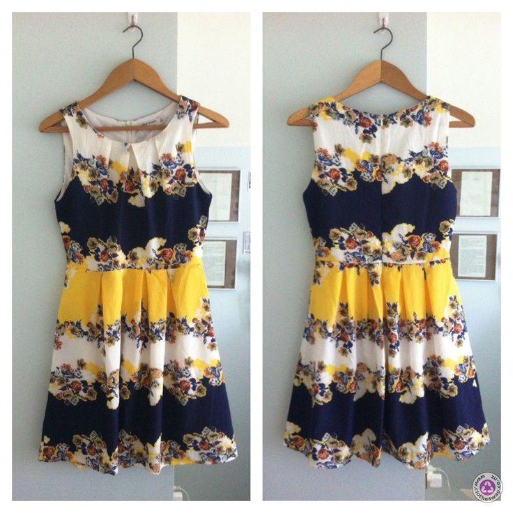 Clotheswap - Paper Scissors Floral Dress