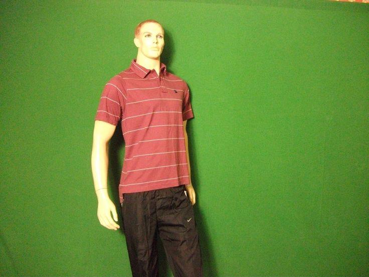 Men s Pacha Ibiza Polo,Large, Burgundy 100% Cotton, Cherries, size XL