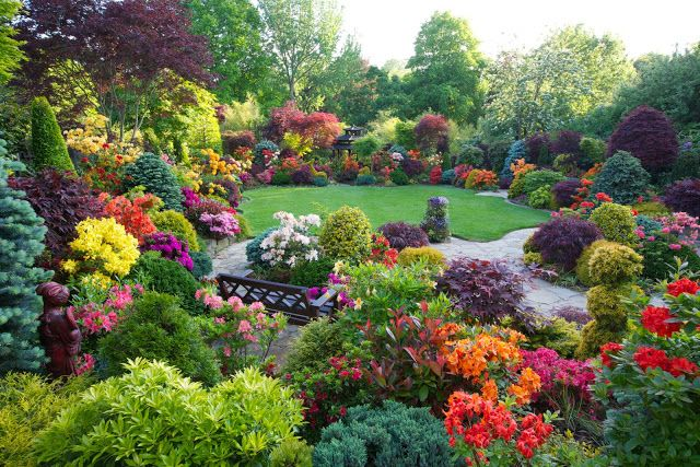 Landscape Focused landscape garden design ideas Beautiful