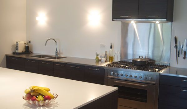 Stainless steel countertops in Toronto, Stainless steel island, stainless steel counter tops. Custom stainless steel sinks, welded& polished as one piece