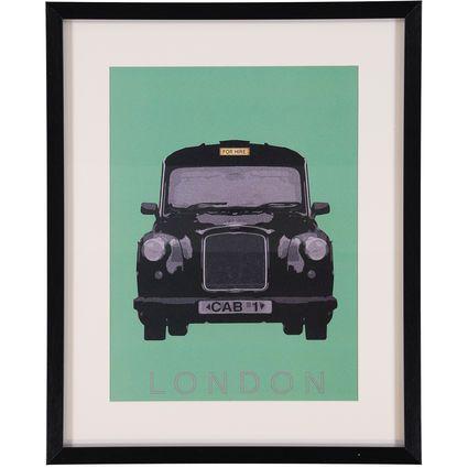 London Cab Print 45x55cm