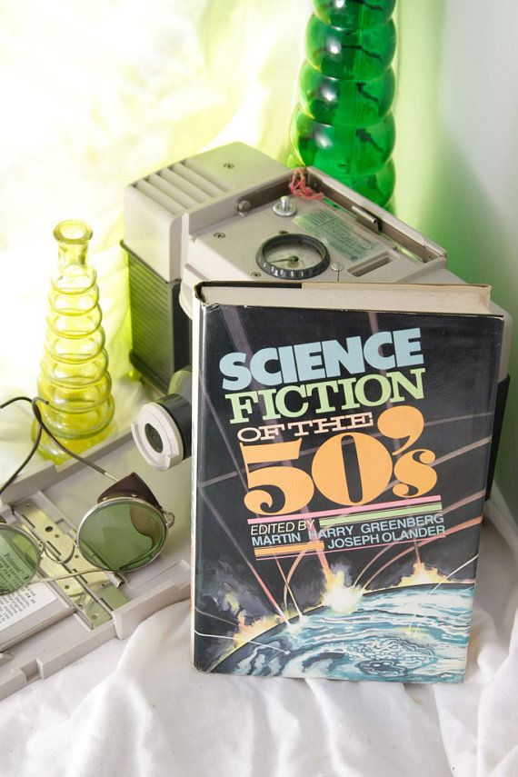 Good Sci Fi Books Science Fiction of the by HudsonPulpAndRockets, $21.00