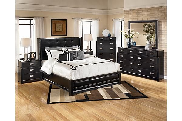 espresso bedroom set the diana platform bedroom set from furniture 11513