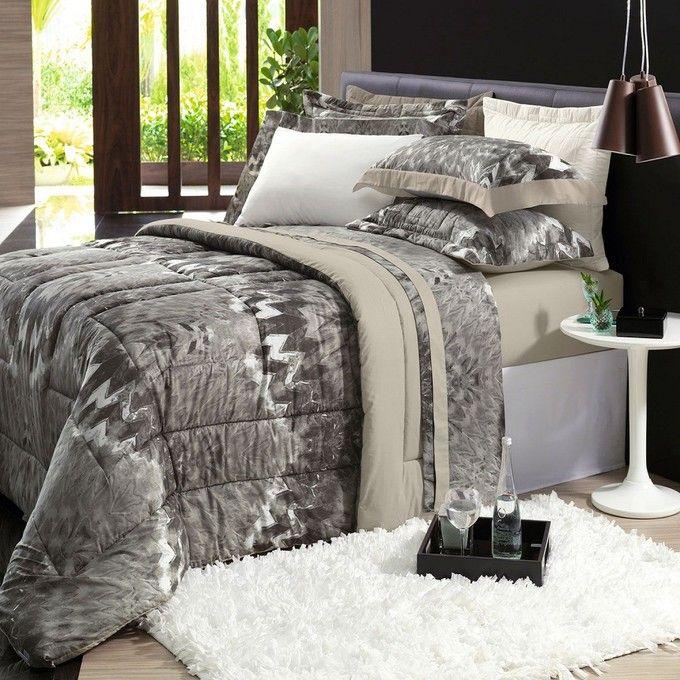 juego de cubre cama algodn ideal para su cama diseo moderno apreciable