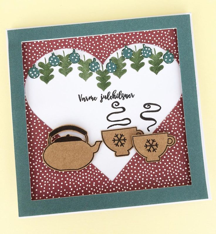 Juleriet fortsætter! Endnu et fint kort af Anja.. #cardmaking #anjaskort #handmadecard #handmadechristmascard #handmade #homemade #christmas #christmascard #christmas2016 #julekort #julehilsen #varmekulehilsner #glædeligjul #threescoopsdk #stempler #papir #clearstamps