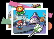 Paper Mario: Sticker Star came out today for Nintendo 3DS