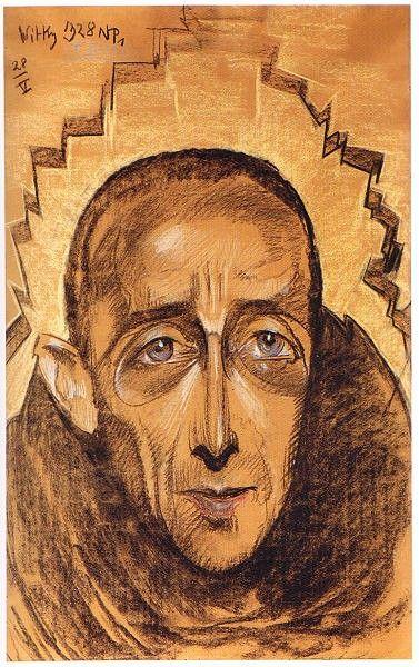 Stanisław Ignacy Witkiewicz (1885 - 1939) Portret Edmunda Strążyskiego