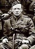 20th and early 21st Century - British Army Website  Lt.Col. Winston Churchill Commanding Officer 6th Bn Royal Scots Fusiliers