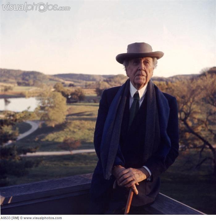 Frank Lloyd Wright | Frank Lloyd Wright [A8533] > Stock Photos | Royalty Free | Royalty ...