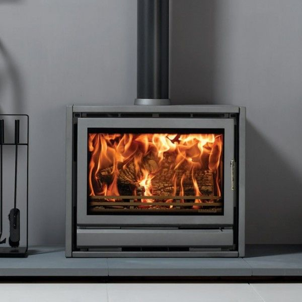 Stovax Riva F76 Freestanding Woodburning Stove - Contemporary Stoves - All Stoves - Stoves Are Us