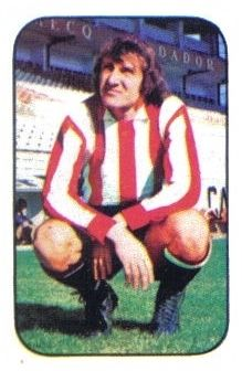 Churruca. Athletic Club de Bilbao. Cromos Este. Temporada 1976-77.