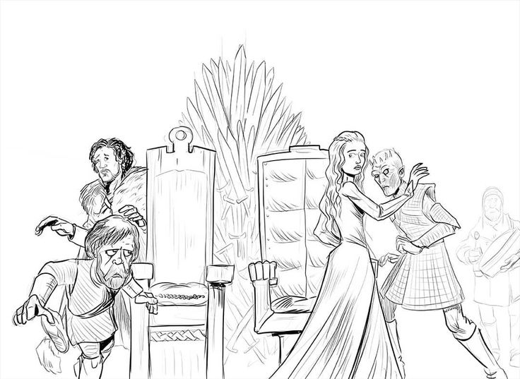 "28 Likes, 4 Comments - Bryan Kelly (@bryankellydraws) on Instagram: ""a game of musical thrones #gameofthrones #musicalchairs #jonsnow #motherofdragons #tyrionlannister…"""