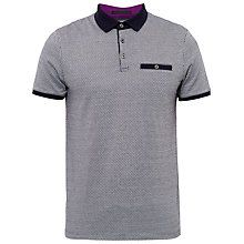 Buy Ted Baker Morrow Jacquard Polo Shirt Online at johnlewis.com ...