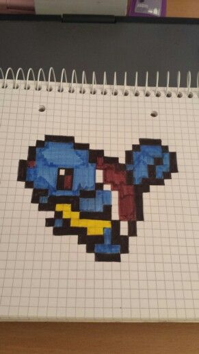 #pokemon #schiggy #pixel