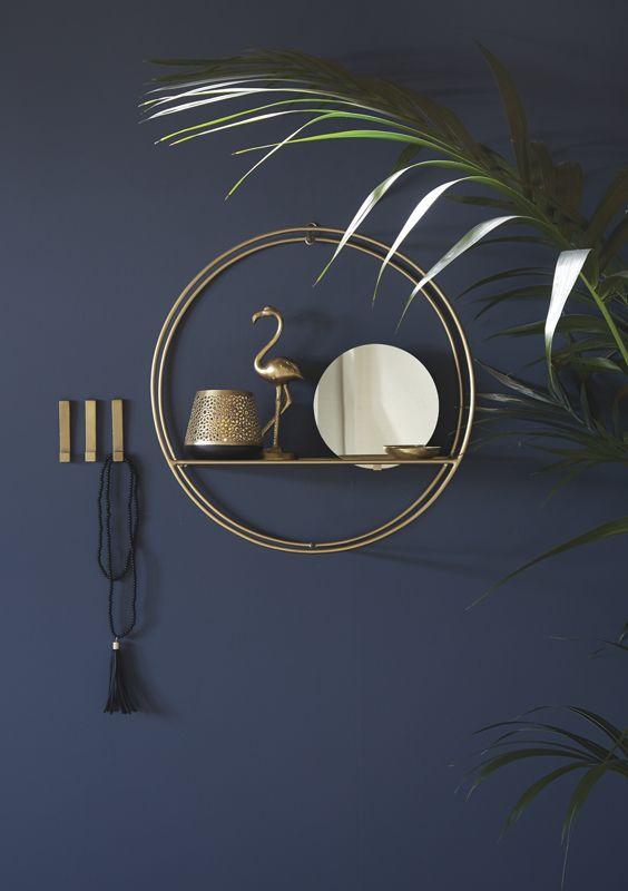 A.U Maison AW17. #aumaison #interior #homedecor #styling #danishdesign #hallway #tropical #mirror #hooks